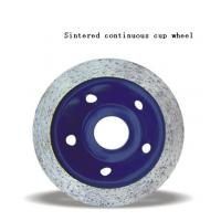 Quality JWT Diamond Cup Wheel with Sintered Continuous Grinding Cup Wheel for sale