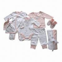 Quality Infant Layette Set, Newborn Gift Sets, Made of Cotton Interlock, Various Items are Available for sale