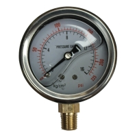 Buy Hydraulic Pressure Gauges, 15,000 psi, 1000 bar at wholesale prices