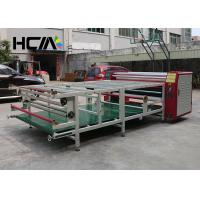 Quality 420 X 1700mm Oil Heating Roller Heat Press Machine Sublimation Printing for sale