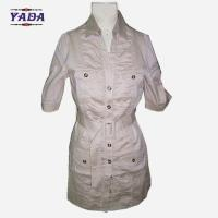 Quality Ladies designer spandex coat womens tshirt dresses printed pattern ladies one piece dress with low price for sale