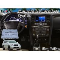 Quality Android Multimedia Video Interface for 2016-2018 Nissan Armada for sale