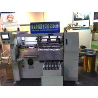 China Semi automatic notebook spiral wire binding machine SSB420 with spiral lock on sale
