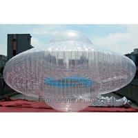 Quality Transparent UFO Custom Advertising Balloons , Digital Printing Sky Advertising Balloons for sale