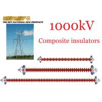 Quality 1000kV AC Overhead Line Insulators , Suspension Type Composite Polymer Insulator for sale
