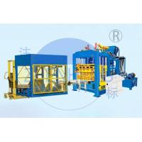 Buy QT12-15 Block Maker Hydraulic Block Making Machine 15 - 25s Cycle Time at wholesale prices