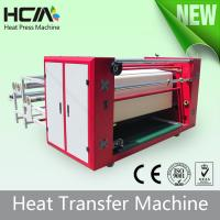 Buy Touch Screen Oil Heating Rotary T Shirt Transfer Press Machines With Digital Controller at wholesale prices