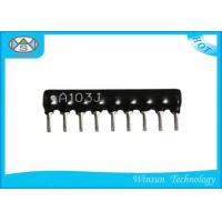China Black High Precision Resistors , Stable 4 Pin - 14 Pin Thick Film Resistor on sale