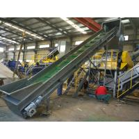 Quality 304 Stainless Steel 150 KW Polythene Bags Recycling Machines 300 Kg / H Full Automatic for sale