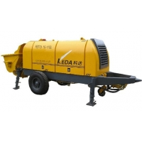 Quality 1400rpm Speed Stationary Diesel Small Concrete Pump for sale