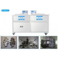 Quality 3 Phases 175 Liter Heated Ultrasonic Cleaner , Two Tanks Ultrasonic Cleaning Machine for sale