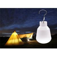 China CCT 7000-8000K Bulb Solar Powered Yard Lights 160lm For Emergency Camping Tent on sale