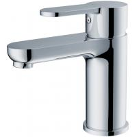 Quality Modern Brass Basin Mixer Faucet with Deck Mounted , Chrome Finish for sale