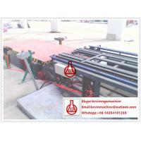 Quality Double Roller Extruding Sandwich Panel Line , Glue Spreading Veneering Drying Wall Panel Equipment for sale