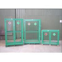 Buy cheap Welded Galvanized Gas Cage With Powder Coated For Industry      from wholesalers