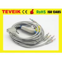 Quality Schiller AT 3 /AT 6 EKG Cable , Medical Cable Banana 4.0 IEC Without Resistor for sale