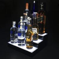 Quality Customized Acrylic Led Light Box Wine Bottle Display Made Of 3mm Material for sale