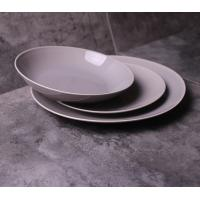 Quality new bone china elegance grey coloured glaze dinner set 12 pcs with gif box/dinner plate/bowl/mug for sale