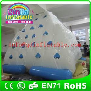 Qin Da aqua iceberg game popular design inflatable iceberg,water climbing games