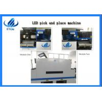 Quality Touch Screen Monitor SMT Mounting Machine Dual Module Pick And Place Equipment 8KW for sale