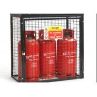 Quality Small Gas Cylinder Cages Propane Tank Storage Easily Assembled / Dissembled for sale
