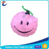 China Promotional Custom Made Fabric Shopping Bags Cute Smiley Face Appearance on sale