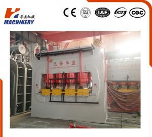 Professional Wood Lamination Machine / Hydraulic Hot Press For Plywood