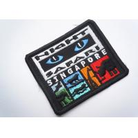 China Rubber  Embroidered Clothing Patch Uniform Sew On For Badges on sale