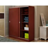 Buy cheap Custom Tall Wood Storage Cabinets With Doors And Shelves , Horizontal File Storage Cupboards product