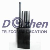 Buy cheap Omni Directional Antennas GPS Signal Jammer Lojack 3G Cell Phone Blocker Device from wholesalers