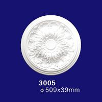 Quality 3005 New Types of Suspended PU Artistic Ceiling Medallion Prices Low for sale