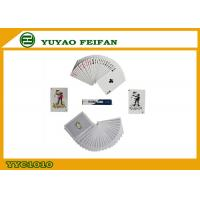 Buy cheap CMYK Pringting Poker Playing Cards with ROHS / SGS Certificate from wholesalers