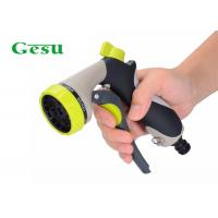 Quality Zinc Watering Hose Spray Nozzle , High Pressure Garden Nozzle 3/4 Thread Size for sale