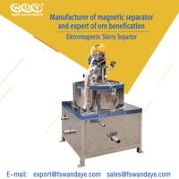 Quality Low Energy Consumption Gold Magnetic Separator Machine 380V 5 - 10 m³/h ceramic slurry for sale