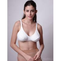 Quality White Seamless Sleep Lactation Eco-Friendly Supportive 40H Padded Underwire Nursing Bra for sale