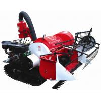 2015 new arrival 4LZ-0.8 Tracked Mini Paddy Wheat Combine Harvester