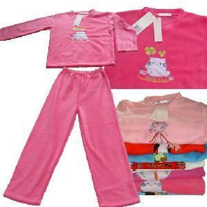 China Girls′ Polar Fleece Pyjamas on sale