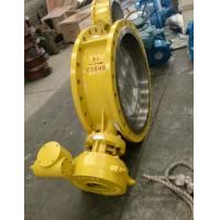 China Electric Actuator WCB Material Eccentric Butterfly Valve DN800 PN16 on sale