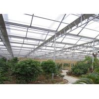 Quality PC Sheet Ecological Greenhouse Steel Modular Installation Long Service Life for sale