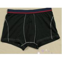 Buy cheap EOM Black Travel Cotton 95% Spandex 5% Large Size Mens Underwear Boxer product