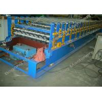 China Steel Roof Panel Double Layer Roll Forming Machine With Cr12 Cutting Blade on sale