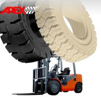 Quality APEX Forklift Solid Tire for 5, 8, 9, 10, 12, 15, 16, 20, 24, 25 inch solid tyre for sale