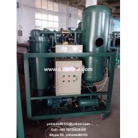 Quality Vacuum Turbine Oil Purifier | Turbine Oil Water Separator | Used Turbine Oil Cleaning for sale