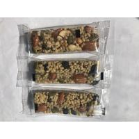 Buy Customized Soft Taste Nutrition Bar Dried Fruit Protein Energy Bars Contain Vegan Foods at wholesale prices