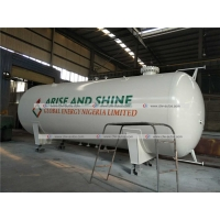 Buy cheap 40cbm 40000liters 20tons LPG Storage Tank Cooking Gas Refilling Station from wholesalers