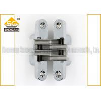 Buy cheap Meta Zinc Alloy 180 Degree Soss Invisible Entry Door Hinges Hardware from wholesalers