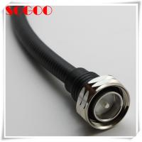 Quality Flexible Custom RF Cable Assemblies , Jumper Cable Assembly With 7/16 DIN Male Connectors for sale