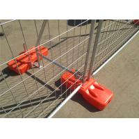 Quality Construction Site Temporary Construction Fencing Panels OD 40mm for NZ Tauranga 2.1m*2.4m for sale