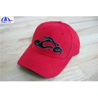 Buy Cool Custom Racing Baseball Caps , Embroidery Custom Fitted Caps For Youth at wholesale prices