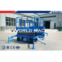 Quality Arm Hydraulic Platform Lift Diesel / Electric / Gaslione Mobile Scissor Lift for sale